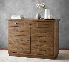 Shop big daddy dresser from Pottery Barn. Our furniture, home decor and accessories collections feature big daddy dresser in quality materials and classic styles. Painted Bedroom Furniture, Custom Furniture, Antique Furniture, Home Furniture, Bedroom Dressers, Wooden Furniture, Antique Sofa, Amish Furniture, Outdoor Furniture