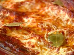 Made this last night! Big hit!   Lasagna al Forno recipe from Tyler Florence.