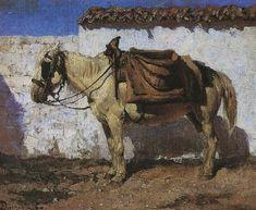 поленов лошадь у решетки– Google Поиск