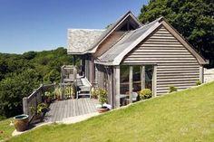 Exterior decking to Hillside house in Cornwall (photo: Nigel Rigden)