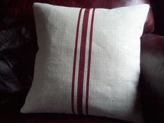 Hey, I found this really awesome Etsy listing at https://www.etsy.com/listing/105436075/grainsack-pillow-cover-decorative-pillow