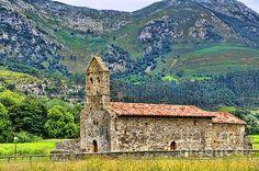Panes, Cantabria, Historical Church, Spain