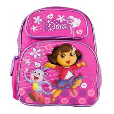 Dora the Explorer and Boots Happy and We Made it Girls 12' School Backpack Bag >>> Read more reviews of the product by visiting the link on the image.