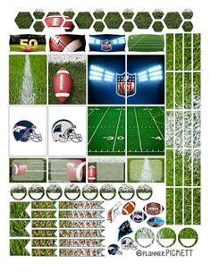 FREE @planner.PICKETT: Super Bowl 50 Free Planner Stickers