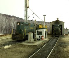 Allagash Railway Photos! - New Sharon diesel fueling pad | Model Railroad Hobbyist magazine | Having fun with model trains | Instant access to model railway resources without barriers