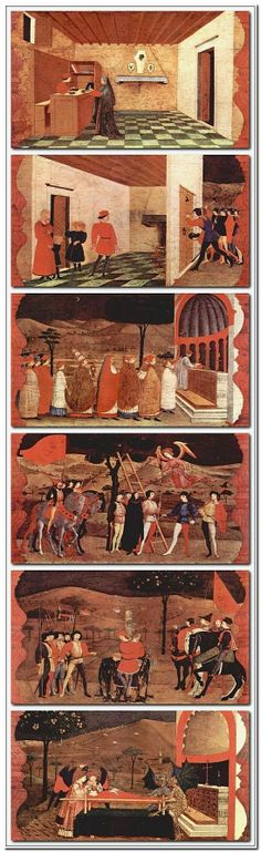 Paolo Uccello. Miracle Of The Desecrated Host. 1469.