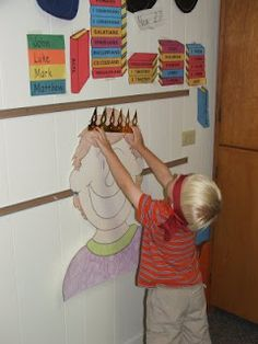 Week 25 Pin the Crown on King David and Feast for Mephibosheth (Son of Johnathan)