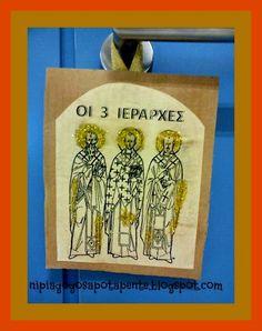 Νηπιαγωγός από τα πέντε...: 3 ΙΕΡΑΡΧΕΣ Crafts, Manualidades, Handmade Crafts, Craft, Arts And Crafts, Artesanato, Handicraft