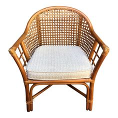 Shop side chairs at Chairish, the design lover's marketplace for the best vintage and used furniture, decor and art. Bamboo Dining Chairs, Dining Room Table Chairs, Leather Dining Room Chairs, Side Chairs, Rattan Chairs, Beach Chairs, Leather Chair With Ottoman, Chair Backs, House Rooms