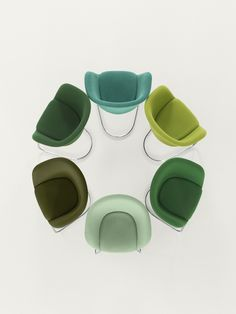 Arper / Duna chair by lievore altherr molina