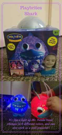 Say Goodnight with Playbrites – Playbrites Shark Review #Playbrites #PlayNGlow @PlayBrites « DustinNikki Mommy of Three