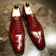 Ascot Shoes — A very special Made to order for a client in a...