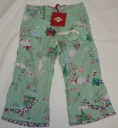 Oilily Mint Printed Donda Pants ON SALE NOW! - Terrific Togs_1