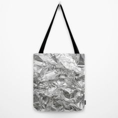 Silver Tote Bag by RK // DESIGN   Society6