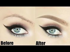 Natural Looking Eyebrows - Tutorial | Stephanie Lange - YouTube