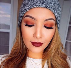 Amanda Ensing, love her and her makeup and I have that hat