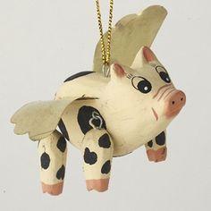 Nice flying pig