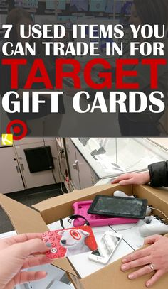 7 Used Items You Can Trade in for Target Gift Cards