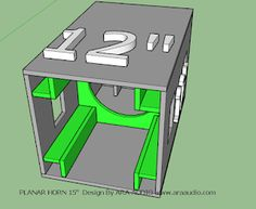 Situs seputar sound system Subwoofer Box Design, Speaker Box Design, 12 Inch Speaker Box, Loudspeaker Enclosure, Speaker Plans, Passive Radiator, Diy Speakers, Audio System, Car Audio