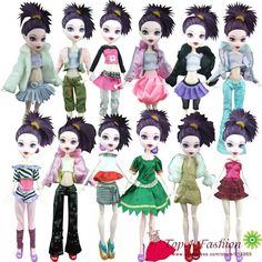 Buy Bratz clothes from a wholesale in China.