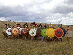 Reenactment:  Greek Hoplites Athenea Prómakhos.org :: View topic - V meeting Ferreruela 28 to 29 September 2013