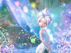 """My daughter & I cannot wait for this new Disney Fairies movie to come out! """"Secret of the Wings"""" This is Periwinkle ;"""