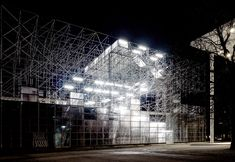 j. mayer h. schaustelle temporary pavilion designboom