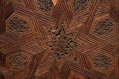 Carved Mosque door.