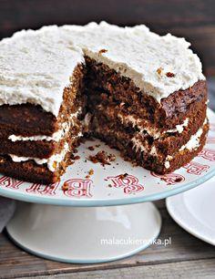 Wyśmienite Ciasto Marchewkowe – Przepis – Mała Cukierenka Tasty Bites, Tiramisu, Birthday Cake, Sweets, Baking, Ethnic Recipes, Foods, Coffee, Cakes