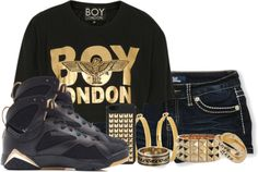 """""""Boy London"""" by krazi-tee ❤ liked on Polyvore"""