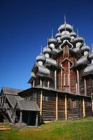 Visit Kizhi Island, Outdoor Museum of Wooden Architecture: Church of the Transfiguration, Kizhi Island