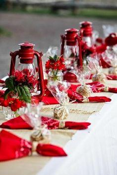 50 Stunning Christmas Table Settings | Pinterest | Winter wonderland ...