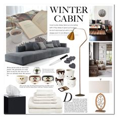 """""""Home sweet home"""" by pankh ❤ liked on Polyvore featuring interior, interiors, interior design, home, home decor, interior decorating, Anja, Karl Lagerfeld, Jonathan Adler and Welspun USA"""