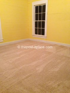 Super EASY carpet tile installation!
