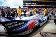 Vic Elford, Martini Porsche 917LH LeMans 1971