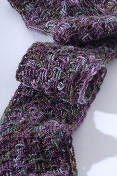 Grecian ladders scarf - tunisian crochet by Sharon Silverman