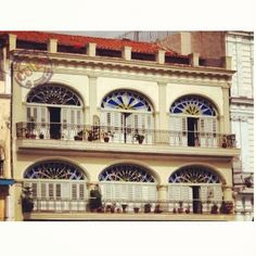 Havana antigua. Cuba.Plaza Vieja.