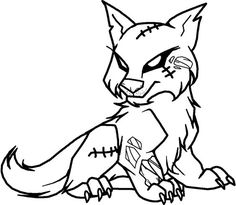 http://colorings.co/cute-wolf-coloring-pages/ #Coloring, #Cute ...