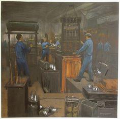 Herman Heijenbrock Schilderij Smit Trafo 2 - 1930-1940
