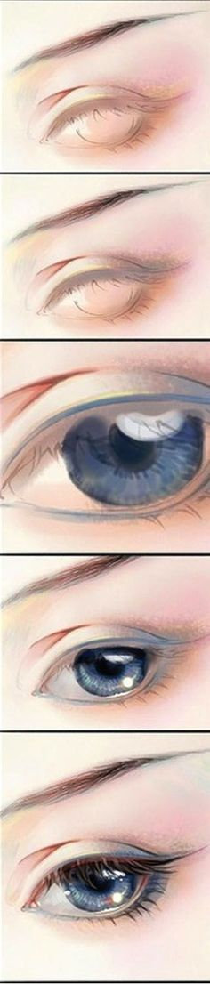Realistic Drawing Tips Eye Pencil Sketch. Digital Art Tutorial, Digital Painting Tutorials, Art Tutorials, Drawing Tutorials, Digital Paintings, Eye Pencil Sketch, Pencil Drawings, Eye Sketch, Eye Drawings