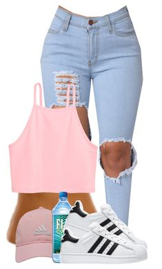 """5/22"" by trillgolddfashionn ❤ liked on Polyvore featuring adidas Golf and adidas"