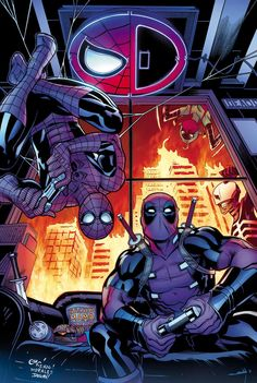 Never miss an issue of Avengers, Spider-Man, X-Men & more Marvel Comics Marvel Comics, Marvel Now, Bd Comics, Marvel Heroes, Marvel Avengers, Deadpool X Spiderman, Deadpool 2016, Deadpool Wolverine, Comic Book Characters