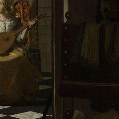 De liefdesbrief, Johannes Vermeer, ca. 1669 - ca. 1670 - Johannes Vermeer - Kunstenaars - Ontdek de collectie - Rijksmuseum