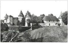 """Frankreich - CPSM FRANCE 38 """" Vignieu, Le Château de Chapeau Cornu"""""""