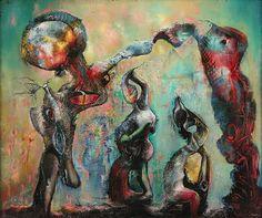 History of Art: Enrico Donati - Chantecler 1946