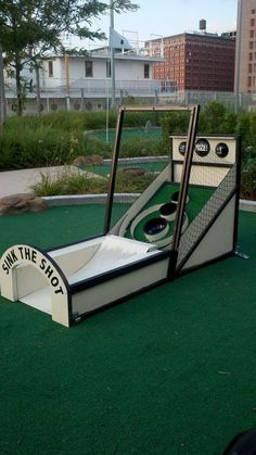 Mini Golf Obstacle Ideas Ideas For Mini Golf Pop Up! More Golf DIY Ideas At  · Backyard GamesOutdoor ...
