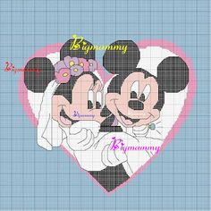 Minnie and Mickey Mouse graphgan