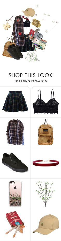 """""""Seduce me"""" by sighsaturn ❤ liked on Polyvore featuring Chicwish, Monki, JanSport, Vans, Moleskine, Humble Chic, Casetify, Sony and kangol"""