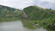 Lac de cratère en RDC Goma