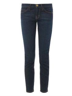 Current/Elliott The Stiletto mid-rise skinny jeans MATCHESFASHION.COM #MATCHESFASHION